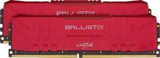 Crucial Ballistix BL2K8G32C16U4R 3200 MHz, DDR4, DRAM, Desktop Gaming Memory Kit