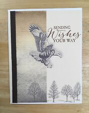 Handmade Masculine Mens For Him Wildlife Rustic Birthday Wishes Card