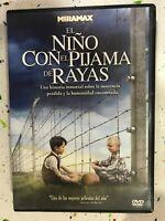Il Bambino Con Il Pigiama De Strisce DVD Spagnolo Inglese Francese Am