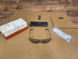 NEW Maui Jim Silver To Black Kami Gunmetal Frame Sunglasses DSB778-02D With Case