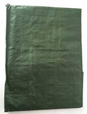 Suelo Lona PE plástica verde oliva 2 x 3 metros  tarpaulin militar suelo camping