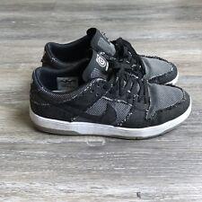 Nike Sb Dunk Low Elite QS Medicom Bearbrick Black Grey Denim Size 8