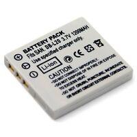 3.7v 1200mAh Battery for DB-L20 Sanyo Xacti VPC-E6U VPC-E60 VPC-E7 VPC-J4 FVD-C1