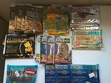 LOT OF UNOPENED PACKS BASKETBALL CARDS 92 COLLECTORS CHOICE TO 95 CLASSIC ROOKIE