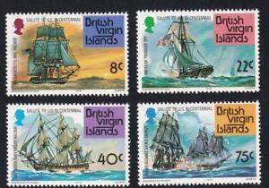 British Virgin Islands MNH 1976 sc#309-312 American Bicentennial-Ships  [93]