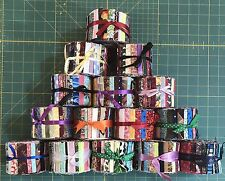 "Scrappy Jelly Roll Grab Bag-20 Assorted Strips-Quilt Fabric-2.5""x40""-No Repeats"