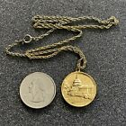 George Washington Original Corner Stone Fob Charm Necklace #39126