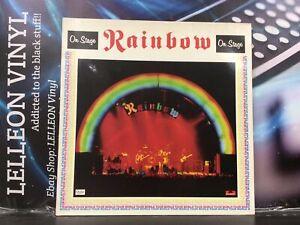 Rainbow On Stage Double LP Album Vinyl Record Rock SPDLP6 70's