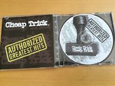 CD Cheap Trick Authorized Greatest Hits USA Pressing 2000 AOR Classic Rock