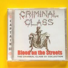 Criminal Class Blood On The Streets Oi! Collection CD NEW SEALED Punk Skinhead