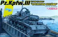 Pz.Kpfw. III 3.7 cm (T) Ausf.F Operation Seelöwe Tank 1:35 Model Kit Dragon 6877