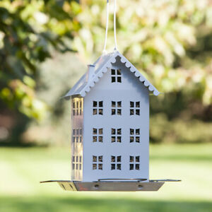 Perky Pet WFH001 Farmhouse Bird Feeder With 4 Feeder Ports