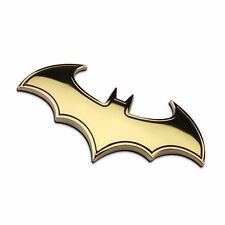 Car Auto Logo 3D Metal stickers Emblem Badge Decals Batman gold best