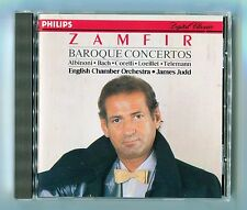 Gheorghe Zamfir - Baroque Concertos - James Judd - Scarce 1988 Mint Cd Album