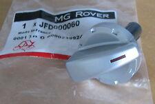 Mg Rover MGZR ZR Calentador Interruptor De Control Perilla Plata Dial Nuevo JFD000060 Original