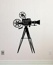 Film Camera Wall Decal Video Art Cinema Home Theater Vinyl Sticker Mural 253xxx
