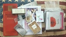 Set of perfume samples: Jo Malone, Elizabeth Arden, Thierry Mugler, Avon etc.