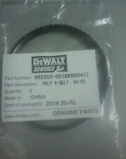 DEWALT 663302-00 DRIVE BELT FOR PORTABLE HAND PLANER