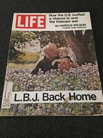 LIFE MAGAZINE MAY 21, 1971 L.B.J. BACK HOME VIETNAM WAR GOOD CONDITION