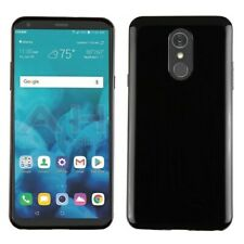 Glossy Jet Black Candy Skin Cover for LG Stylo 4 LG Stylo 4 Plus