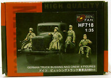 HobbyFan HF718 | German Büssing-NAG Truck Crew (4 Fig.) _ Resin | 1:35 -NEU-