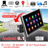 "10.1"" Android 9.1 Car Stereo Radio Quad-core 2GB+32GB Mirror Link GPS OBD BT DAB"