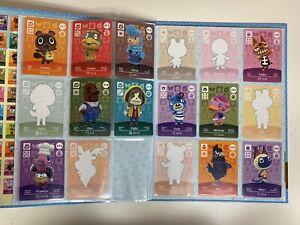 Nintendo Animal Crossing Official Amiibo Collectors Album series 3 & 56 Cards