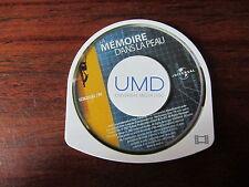LA  MEMOIRE  DANS LA PEAU               ---    FILM UMD     pour PSP