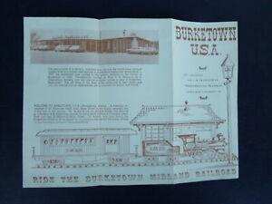 1960's Birktown  Midlande railroad brochure  Greensburg Kansas