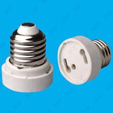 Edison Tornillo ES E27 a GU24 Convertidor Soporte Adaptador Bombilla de luz lámpara de base Zócalo