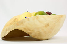Decorative Wooden Bowl Hand turned Mango Wood - Infinity Wave