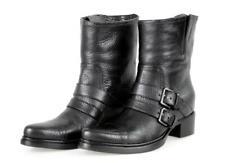 AUTH LUXURY MIU MIU HALF-BOOT SHOES 5U8855 BLACK NEW US 10 EU 40 40,5 UK 7