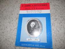 1989.l'abbé Grégoire ou l'Arche de la Fraternité.Plongeron
