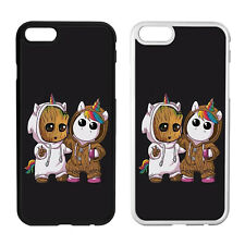 Groot & Unicorn Inspired Fan art Phone Case Cover 4 iPhone Samsung Galaxy Marvel