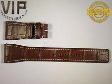 5 DAYS ONLY!! NEW OEM Authentic IWC strap 24mm genuine alligator brown IWA50226