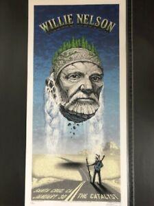 Emek - Willie Nelson Santa Cruz Screen Print - NT Mondo