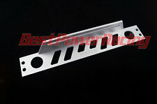 New Universal Blue Engine Oil Cooler Mounting Bracket Kit 5mm Thickness Alloy