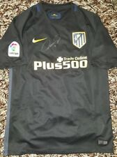 Fernando Torres Signed shirt Atletico de Madrid Griezmann match un worn proof