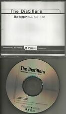 THE DISTILLERS The Hunger w/ RARE RADIO EDIT PROMO DJ CD Single 2003 USA MINT