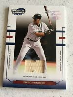 2004 Donruss World Series Game Used Bat Fred McGriff  #/100 WS-44