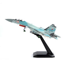1/100 Scale SU-35 SU35 Alloy Fighter Russian Aircraft Airplanes Collectible Toys