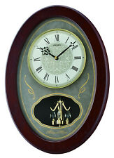 Seiko Melodies In Motion Wall Clock Qxm373Blh