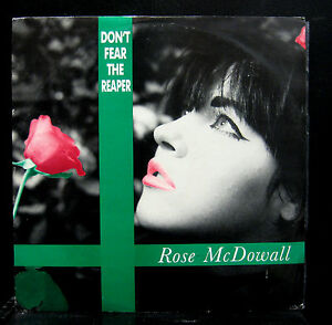 """Rose McDowall Don't Fear The Reaper 12"""" VG+ 12RDS3 Rio Digital UK Synth-pop"""