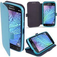 3 Book Case Flexi hülle Schutzhüle Etui Handy Tasche Cover HTC One A9s blau