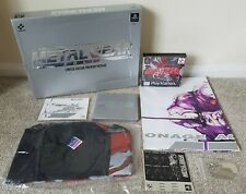 METAL GEAR SOLID Limited Edition Premium Package - NEW - UK Pal - Sony PS1