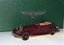 Lansdowne Models LDM 108 1936 Bentley 4 ¼ Litre DHC by Park Ward dark red 1:43