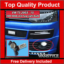 VW T5 TRANSPORTER HB4 9006 LED REPLACEMENT FOG LIGHT (2 BULBS) PERFORMANCE WHITE