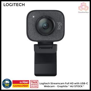 Logitech Streamcam Full HD with USB-C Webcam – Graphite * AU STOCK *
