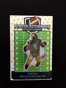 Green Bay Packers Brett Favre jersey lapel pin-Classic Collectible