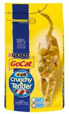 Go-cat Crunchy & Tender Salmon Tuna & Veg 1.5kg